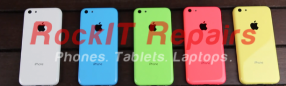 iPhone 5C Front Glass Replacement Parts | Yellow, Green, Blue, Red(Pink) and White